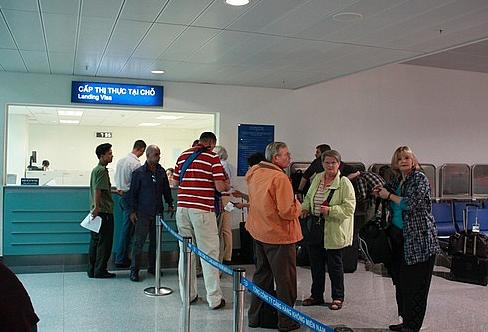 Landing visa